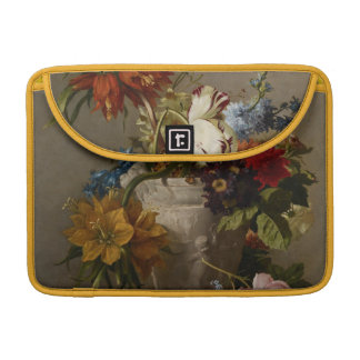 An Arrangement with Flowers, 19th century MacBook Pro Sleeves