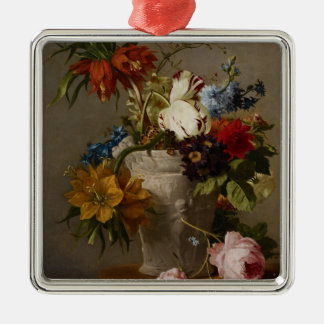 An Arrangement with Flowers, 19th century Christmas Ornament
