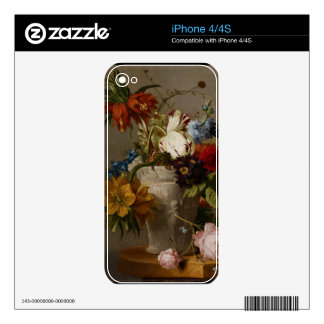An Arrangement with Flowers, 19th century Skin For The iPhone 4S