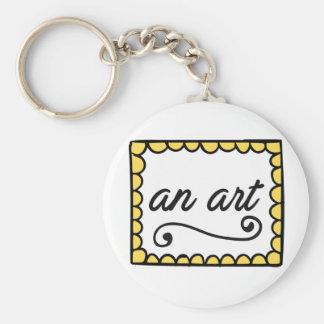 An Art Keychain