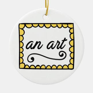 An Art Ornament