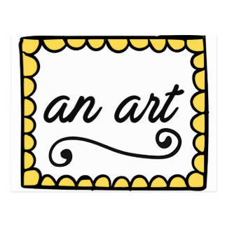 An Art Postcard