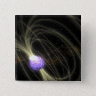 An artist conception of the SGR 1806-20 magneta Button