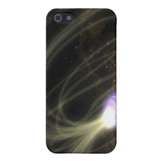 An artist conception of the SGR 1806-20 magneta Cover For iPhone SE/5/5s