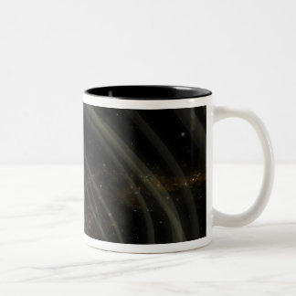 An artist conception of the SGR 1806-20 magneta Two-Tone Coffee Mug