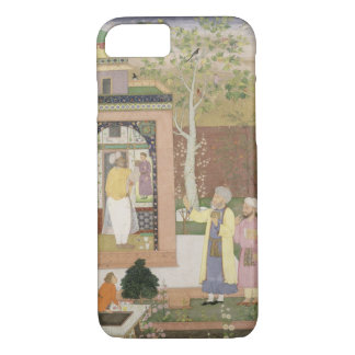 An artist decorating the interior of a garden pavi iPhone 8/7 case