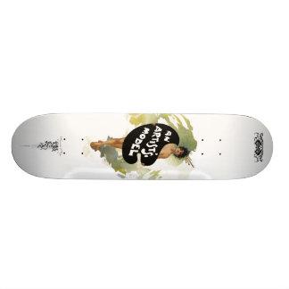 An Artist Model Skateboard Deck