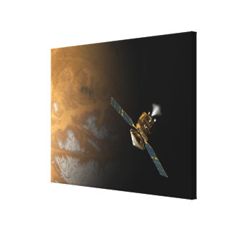 An artist s concept stretched canvas print