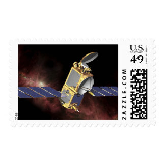 An artist's concept 2 stamps