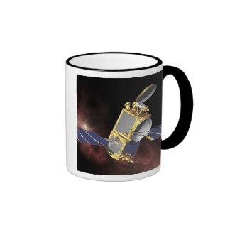An artist's concept 2 ringer coffee mug