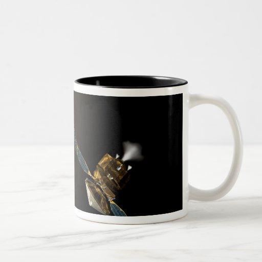 An artist's concept coffee mugs