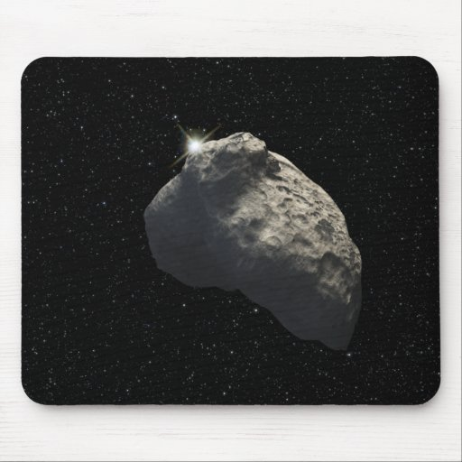 An artist's impression mouse pad