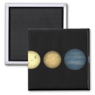 An artist's rendition comparing brown dwarfs 2 magnet