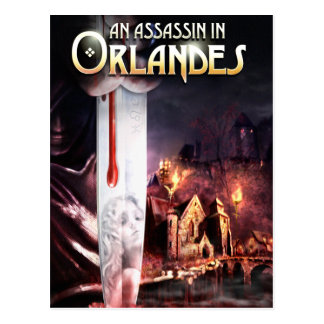 An Assassin in Orlandes Cover Postcard