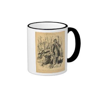 An Assault on Modesty or Mr. Chamberlain's Ringer Mug