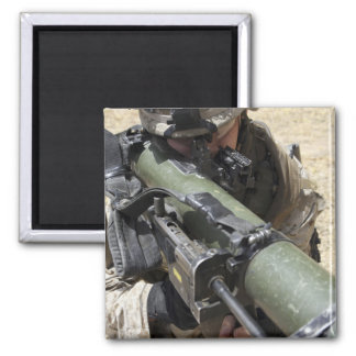 An assaultman fridge magnet