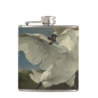 An Asselijn - The Threatened Swan Flask