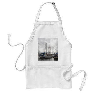 An Assortment of Yachts Adult Apron