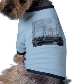 An Assortment of Yachts Doggie Shirt