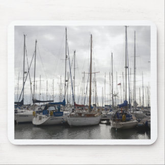 An Assortment of Yachts Mouse Pads