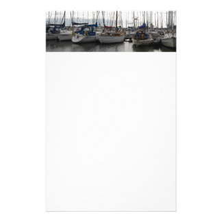 An Assortment of Yachts Stationery Paper