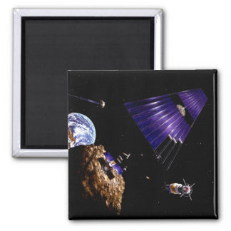 An asteroid mining mission 2 inch square magnet