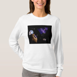 An asteroid mining mission T-Shirt