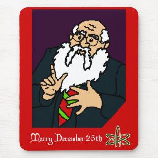An Atheist Christmas Greeting Mouse Pad