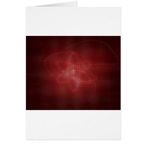 An Atom Greeting Card