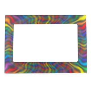 An Atomic Rainbow Magnetic Frame
