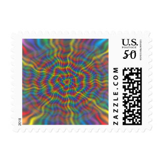 An Atomic Rainbow Postage Stamps