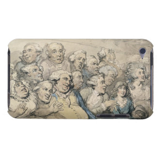 An Audience at Drury Lane Theatre (pen & ink and w iPod Touch Case-Mate Case
