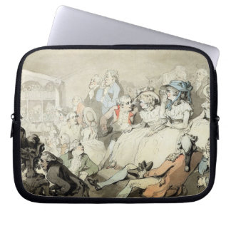An Audience Watching a Play, c.1785 (pen and ink a Computer Sleeve