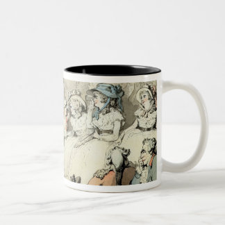 An Audience Watching a Play, c.1785 (pen and ink a Two-Tone Coffee Mug