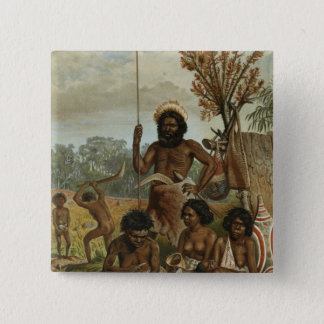 An Australian family party from New South Wales Button