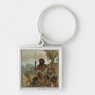 An Australian family party from New South Wales Keychains