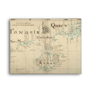 An Authentic 1690 Pirate Map Envelopes