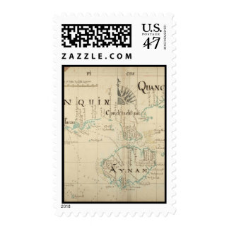 An Authentic 1690 Pirate Map Postage