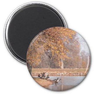 An Autumn Day 2 Inch Round Magnet