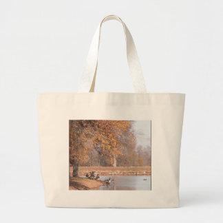 An Autumn Day Canvas Bags