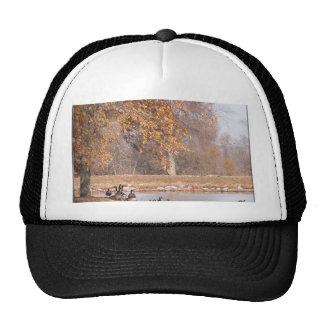 An Autumn Day Mesh Hats