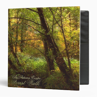 An autumn escape binder