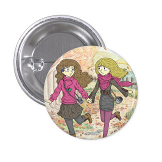 An Autumn Walk Button