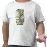 An Aztec feather artisan T Shirts