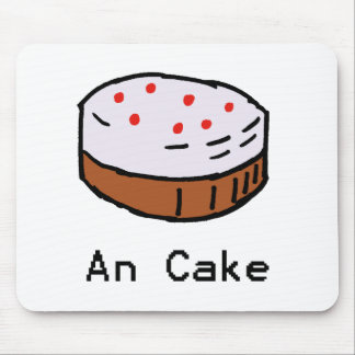 An Cake Mousemat Mouse Pad