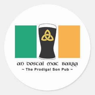 An Doscai Mac Barra Stickers