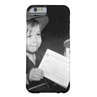An eager school boy gets his_War image Barely There iPhone 6 Case