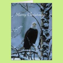 An Eagle Christmas! Card