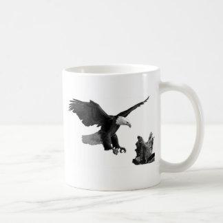 An Eagle Landing Coffee Mug