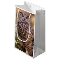 An Eagle Owl Small Gift Bag